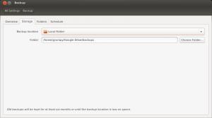 Put Deja Dup backups into ~/Google Drive
