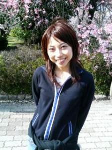 Ayaka and cherry blossoms